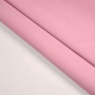 Кожзам для кукольных ботиночек - нежно-розовый, 25*23 см