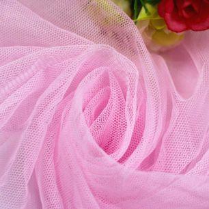 Мягкий фатин Пастель- нежно розовый