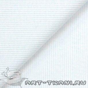 Лоскут трикотажной ткани кашкорсе Белый