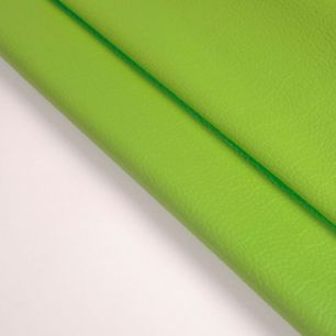 Кожзам для кукольных ботиночек - Сочный зеленый, 25*23 см