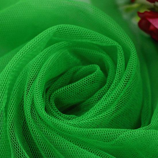 Мягкий фатин Пастель- сочный зеленый