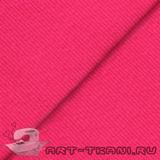 Лоскут трикотажной ткани кашкорсе Розовый